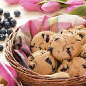 Breakfast Blueberry Muffins Recipe