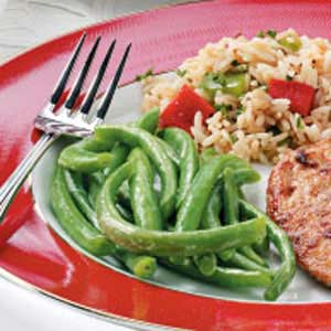 Tangy Buttered Green Beans Recipe
