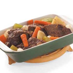 Maple Pot Roast Recipe