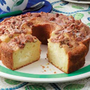 Nutty Cream Cheese Coffee Cake Recipe