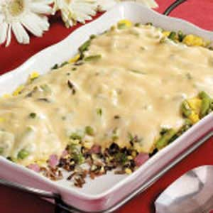 Wild Rice Brunch Casserole