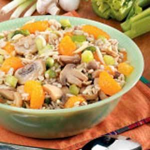 Mandarin Barley Salad Recipe