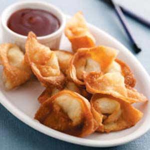 Creamy Crab Wontons Recipe