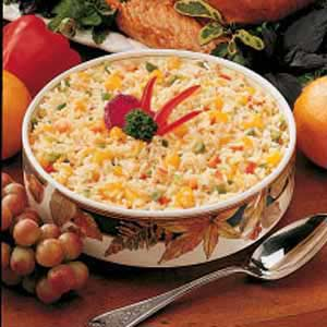 Orange Rice Medley Recipe