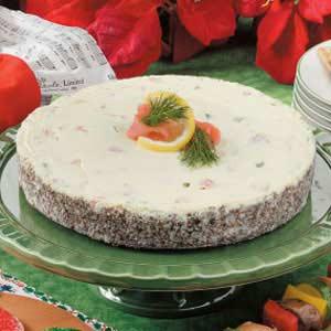 Noel Salmon Cheesecake Recipe