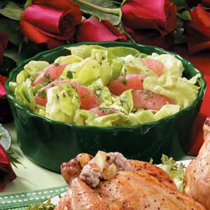 Grapefruit Lettuce Salad Recipe