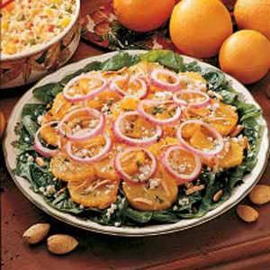 Onion Orange Salad Recipe