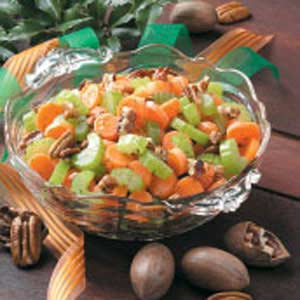 Carrots 'n' Celery with Pecans Recipe