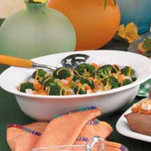 Cheesy Carrot Broccoli Casserole Recipe