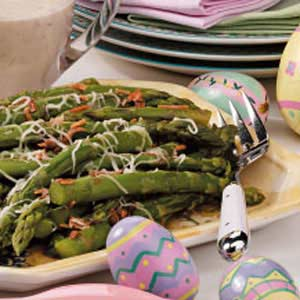 Flavorful Oniony Asparagus Recipe
