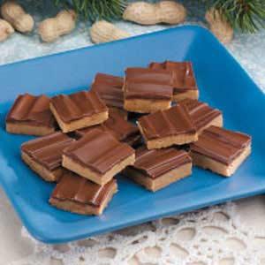 Chocolate Peanut Squares Recipe