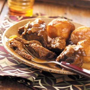 Sweet-and-Sour Pot Roast Recipe