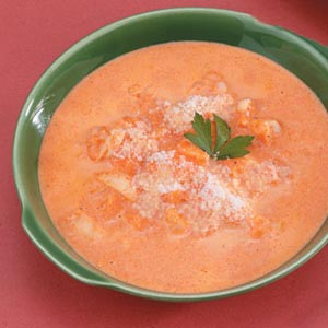 Red Pepper Shrimp Bisque