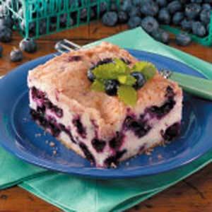Classic Blueberry Buckle Recipe