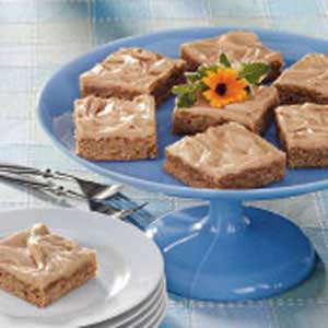 Peanut Butter Oatmeal Squares Recipe
