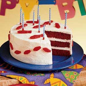 """""""Fishy"""" Red Velvet Cake Recipe"""