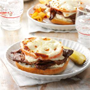 Tomato Steak Sandwiches Recipe