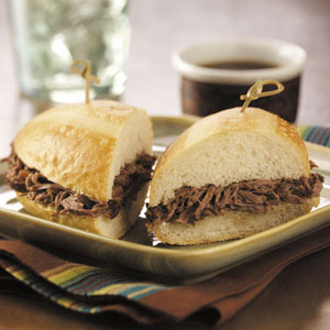 Savory Italian Beef Sandwiches Recipe