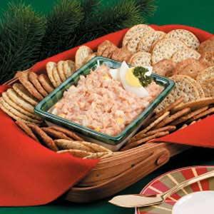 Crab-Egg Cracker Spread Recipe