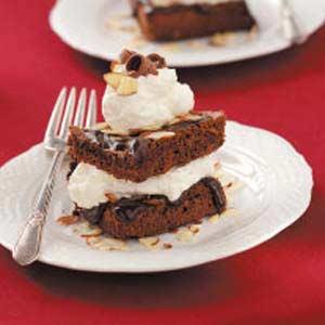 Chocolate Almond Stacks Recipe