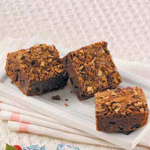 Dark Chocolate Cherry Brownies Recipe