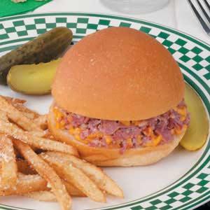 Hot Corned Beef Buns Recipe