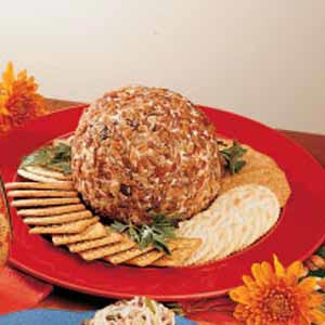 Pecan-Date Cheese Ball Recipe