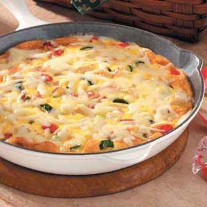 Chicken 'n' Ham Frittata Recipe