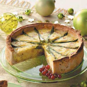 Hearty Asparagus Pie Recipe