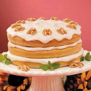 Pumpkin Spice Torte Recipe