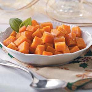 Garlic-Roasted Sweet Potatoes Recipe