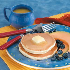 Pancakes with Orange Syrup