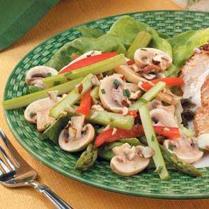 Hazelnut Vegetable Salad Recipe