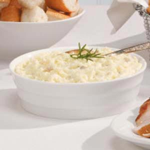 Feta Cheese Mashed Potatoes Recipe
