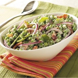 Festive Pea Salad Recipe