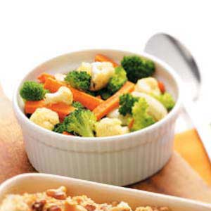 Colorful Roasted Oven Vegetables Recipe