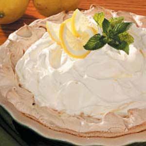Lemon Pie in Meringue Shell Recipe