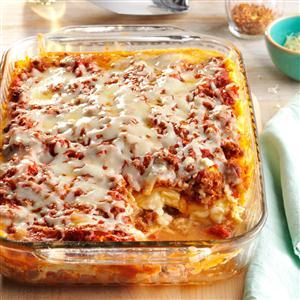 Four-Cheese Lasagna Recipe