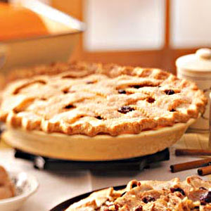Cherry-Apple Lattice Pie Recipe