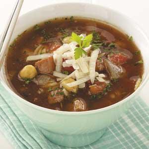 Ham 'n' Chickpea Soup Recipe