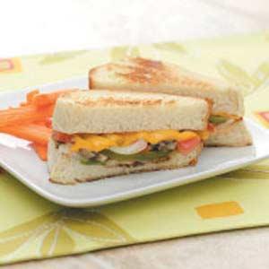 Veggie Cheese Sandwiches Recipe
