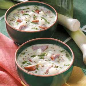 Kielbasa Potato Soup Recipe