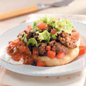 Indian Fry Bread Tacos Recipe