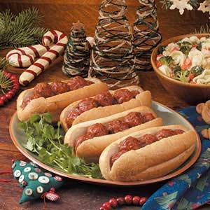 Italian Meatball Hoagies Recipe