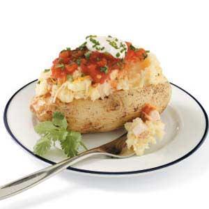 Hearty Chicken-Filled Potato Recipe