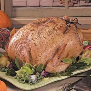 Herb-Glazed Turkey Recipe