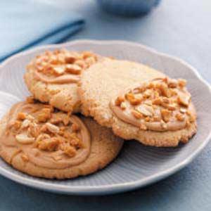 Giant Peanut Brittle Cookies Recipe