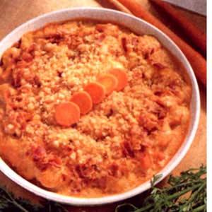 Zippy Baked Carrots Side Dish Recipe