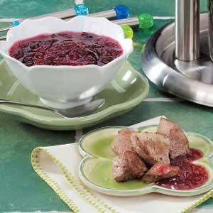 Cranberry Orange Dipping Sauce Recipe