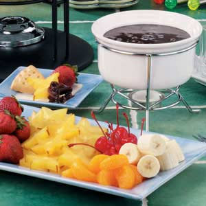 Chocolate Pecan Fondue Recipe